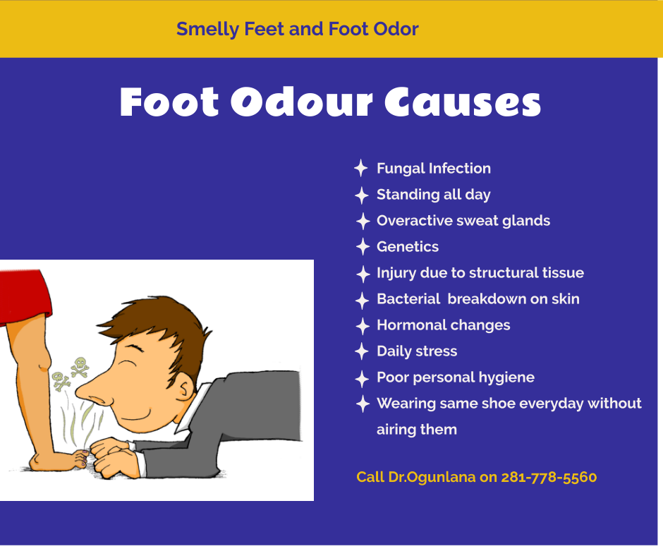 foot odour